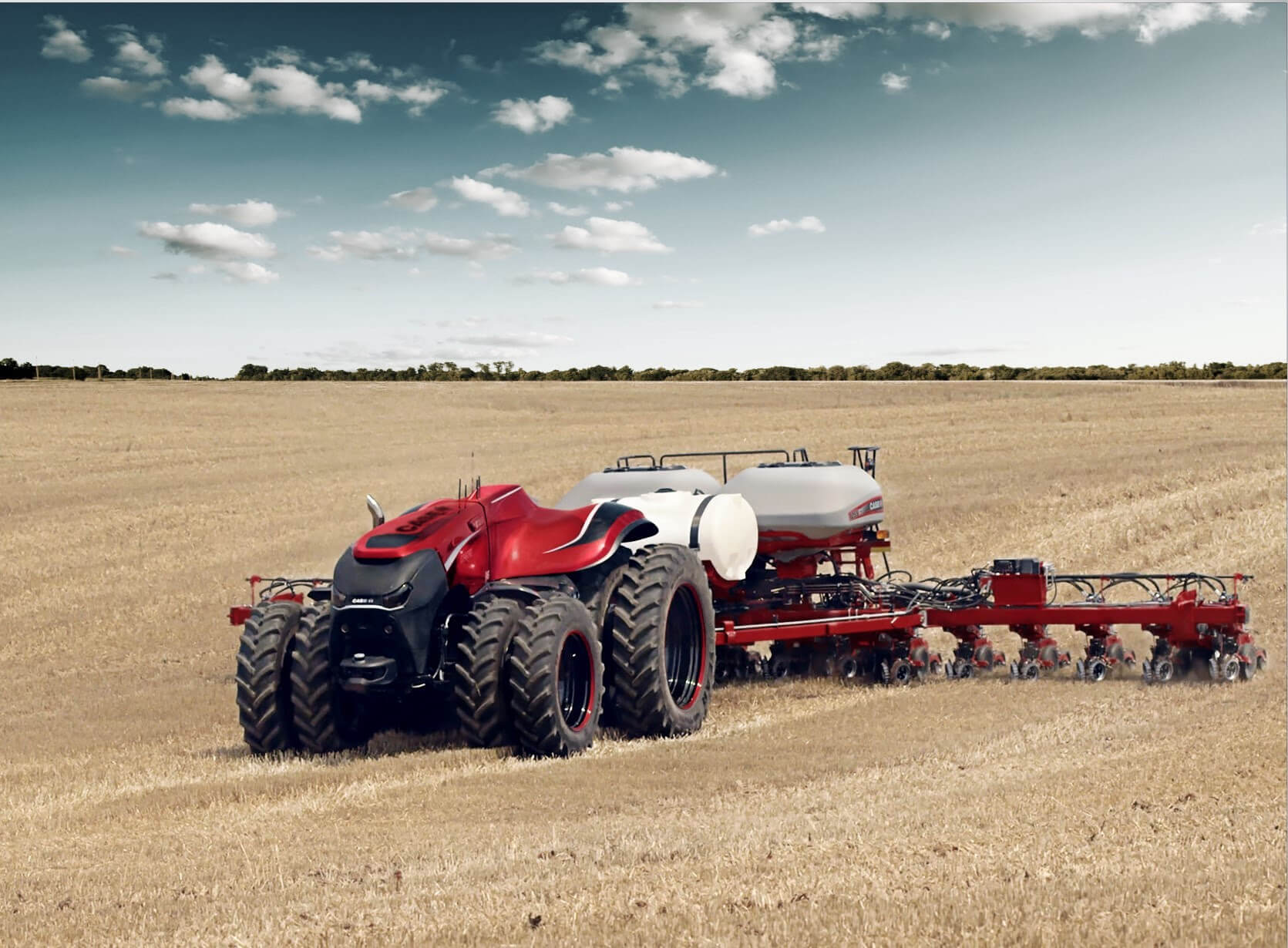 case driverless with planter