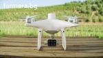 Инспекция на посевите чрез заснемане с дрон